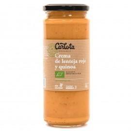 Crema de Lenteja Roja y Quinoa Bio 450g