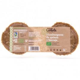 Hamburguesa de Quinoa y Borraja Bio 160g