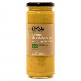Crema de Calabaza con Semillas de Chia Bio 450g