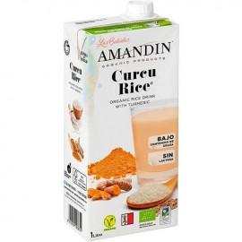 Cucu Rice Bebida de Arroz y Cúrcuma Bio 1L