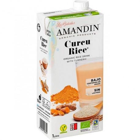 Curcu Rice Bebida de Arroz y Cúrcuma Bio 1L
