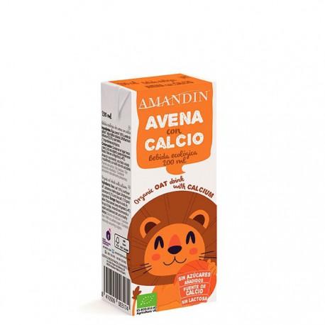 Mini Bebida de Avena Calcio Bio Infantil 200ml