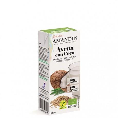 Mini Bebida de Avena con Coco Bio 200ml