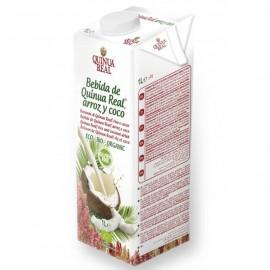 Bebida de Quinoa Arroz y Coco Quinua Real Bio 1L