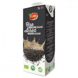 Bebida de Arroz Negro Sin Gluten Bio Vivibio 1L