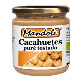 Puré de Cacahuete Tostado (100% Cacahuete) Bio 325g