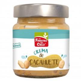 Crema de Cacahuetes Smoothy Bio 200g La Finesta