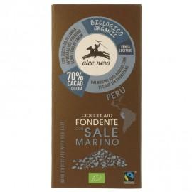Chocolate Negro con Sal Marina Bio 50g