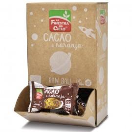 Energy Ball Cacao y Naranja Bio Sin Gluten 25g