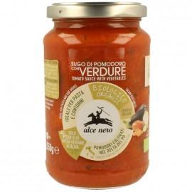 Salsa de Tomate con Verduras Bio 350g