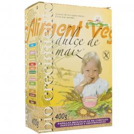 Papilla Biocrecimiento Dulce de Maiz Sin Gluten Bio 400g