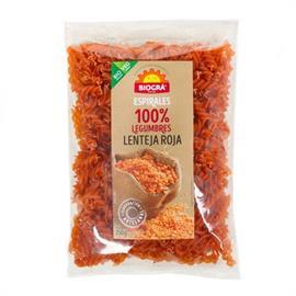 Espirales de Legumbres 100% Lenteja Roja Bio 250g