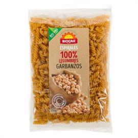 Espirales de Legumbres 100% Garbanzos Bio 250g