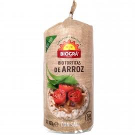 Tortitas de Arroz con Sal Bio 100g