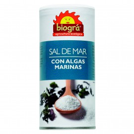 Sal de Mar con Algas Marinas Bio 225g