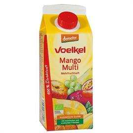 Zumo de Mango con Multifrutas Bio 750ml