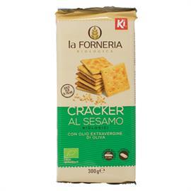 Crackers de Sésamo y Aceite de Oliva Bio 300g