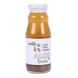 Bebida Detox Aloe Piña y Baobab Bio 212ml