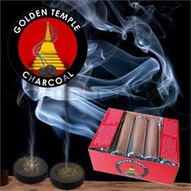 Carbon Golden Temple en Tabletas Tubo 40mm