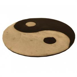 Quemador de Incienso Yin Yang de Esteatita 10cm