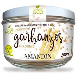 Paté de Garbanzos con Comino Bio 200g