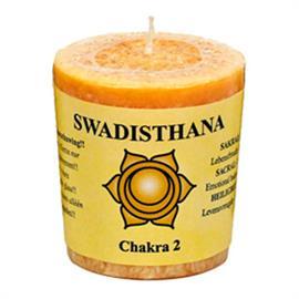 Vela Votiva Perfumada 2do Chakra Swadisthana