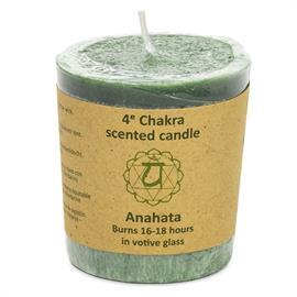Vela Votiva Perfumada 4to Chakra Anahata