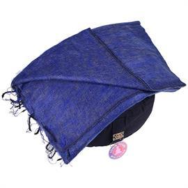 Manta de Meditación Azul Oscuro 200x80cm