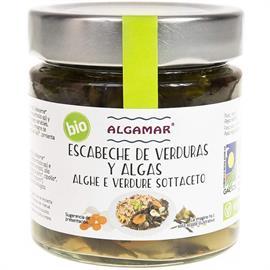 Escabeche de Verduras y Algas Bio 190g