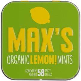 Max's Mint Limón Bio 35g