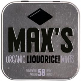 Max's Mint Regaliz Bio 35g