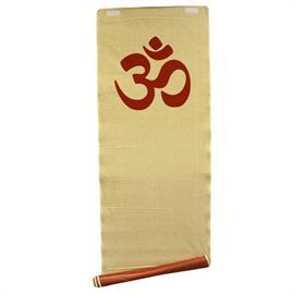 Estera de Yute para Yoga Roja