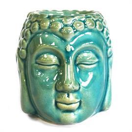 Quemador de Aceite Buda Azul