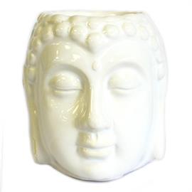 Quemador de Aceite Buda Blanco