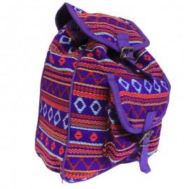 Mochila Nepalí Pequeña Violeta