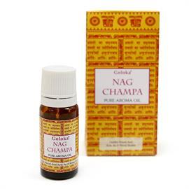 Aceite de Fragancia Nag Champa Goloka