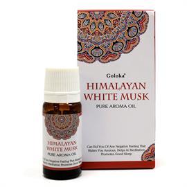 Aceite de Fragancia Azmicle Blanco del Himalaya Goloka