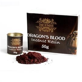 Resina de Incienso de Sangre de Dragones 50g