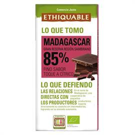 Chocolate Negro 85% Madagascar Bio 100g