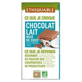Chocolate con Leche y Coco Bio 100g