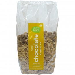 Muesli Chocolate Sin Gluten Bio 500g