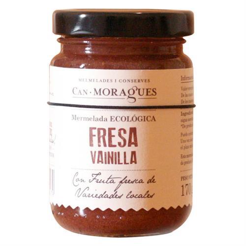 Mermelada Gourmet de Fresas con Vainilla Bio 170g