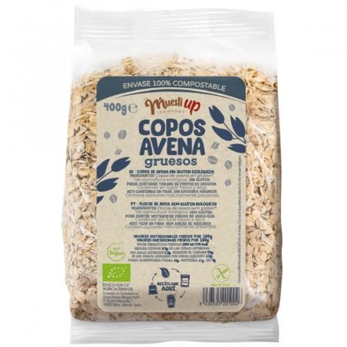 Copos de Avena Gruesos Gluten Free Bio 400g