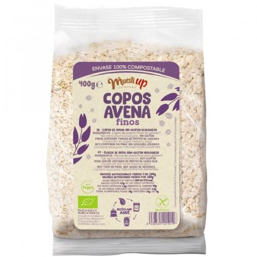 Copos de Avena Finos Gluten Free Bio 400g