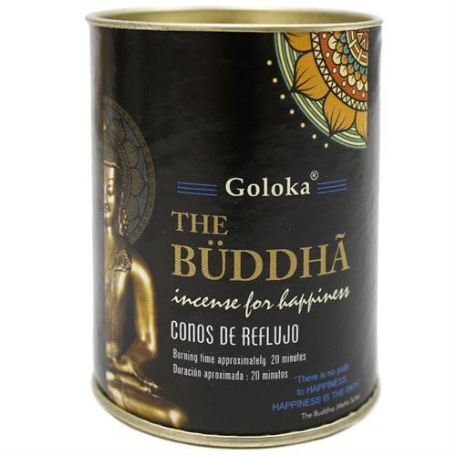Conos de Incienso Cascada Buda Goloka 18uds