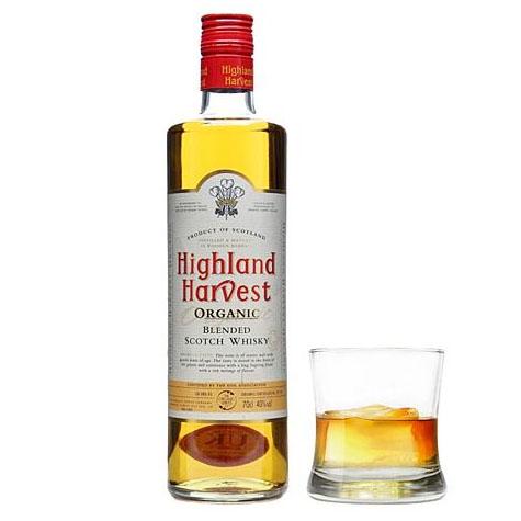 Whisky Higlands Harvest Bio 70 cl