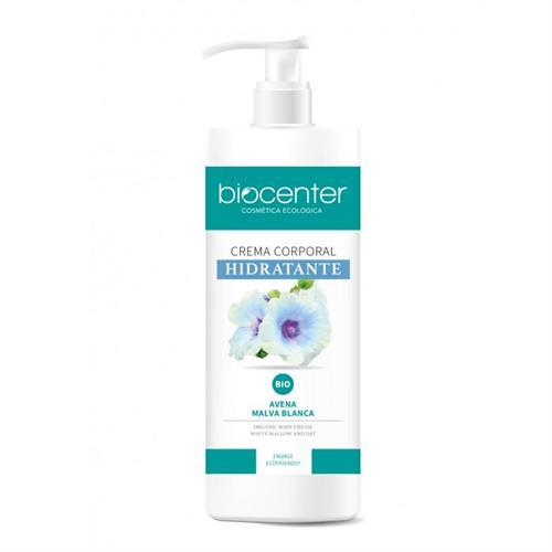 Crema Corporal Hidratante Avena y Malva Blanca BC Botanical Bio 500ml