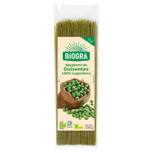 Spaghetti de Legumbres 100% Guisante Bio 250g