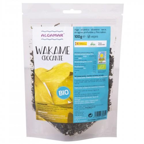 Alga Wakame Crocante Bio 100g