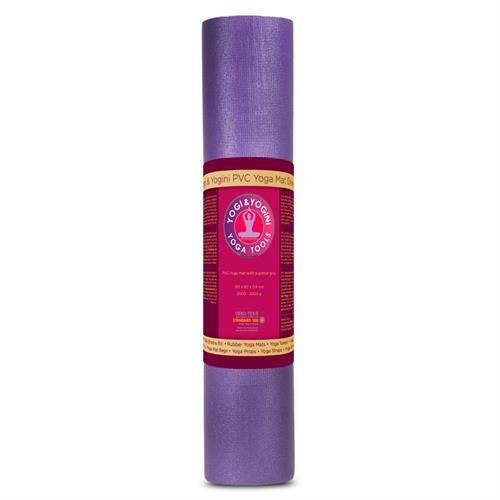 Estera de Yoga Deluxe Púrpura Yogi&Yogini 60x183x0,6cm
